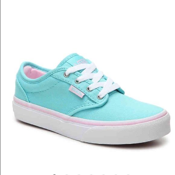 Vans Shoes | Nwbvans Atwood Canvas Blue